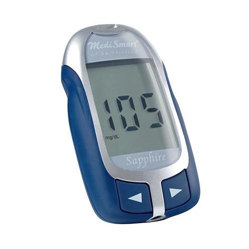 MediSmart® SAPPHIRE Blood Glucose Meter